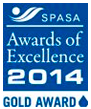 SPASA Award of Exellence Gold 2014