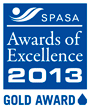 SPASA Award of Exellence Gold 2013